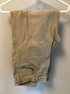 USED CARHARTT FIRE & Flame Resistant Work Jeans Men's