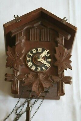 Vintage German Cuckoo clock for spares, repair or restoration