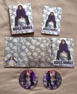 "Ross Noble ""Fizzy Logic"" 2 Disc Box Set Multiple Shows, Extras & Bonus Features"
