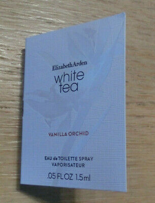 ♛ ELIZABETH ARDEN White Tea Vanilla Orchid EdT 1,5 ml Spray Probe NEU ♛