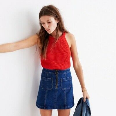 1d24f3a78 MADEWELL DENIM SKIRT Brand New With Tag - $30.00 | PicClick