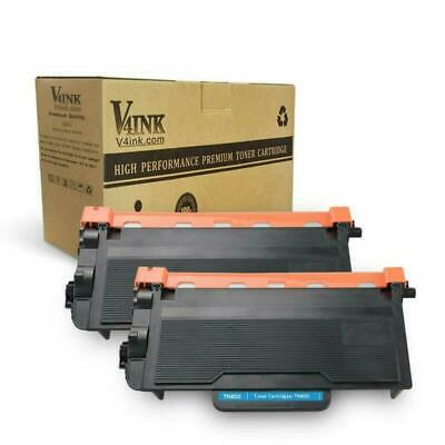 V4Ink 2 Pack Compatible Toner Cartridge Replacement For Brother Tn850 Tn 850 Tn8