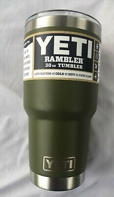 YETI Rambler, 30oz Olive Green NEW Retired Color 30 Ounce