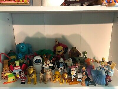 Disney McDonald's Happy Meal Toy Figure Lot Incredibles Lion King Toy Story Hulk
