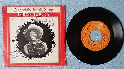 "SLY AND THE FAMILY STONE - LOOSE BOOTY - Single, 7"", Spain 1974"