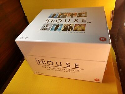 HOUSE M.D. The Complete Series (Blu-ray Box Set, REGION FREE) NEW-Free SHIPPING