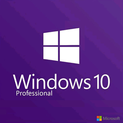 Windows 10 Pro 32 / 64 Bit Win 10  Genuine License Original Activation Key W
