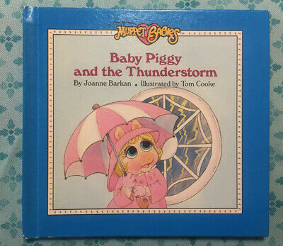 Muppet Babies Baby Piggy And The Thunderstorm Hardback Book 1987