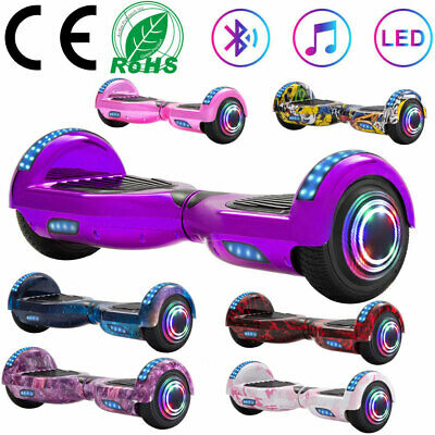 """Self-balancing Scooter 6.5"""" Hoverboard Bluetooth Electric Scooters Balance Board"""