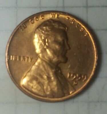 1959-D Unc Lincoln Memorial Penny Nice Coin
