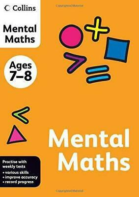 Collins Mental Maths: Ages 7-8 (Collins Practice), , Good Condition Book, ISBN 9