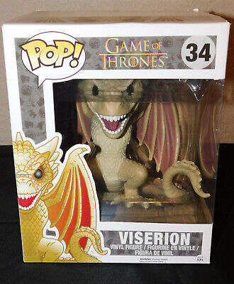 New Funko Pop Supersized Game of Thrones Viserion - Edition Five