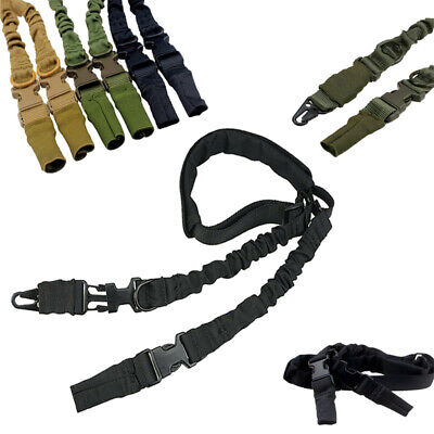 Heavy Duty Tactical Nylon 2 Point Rifle Gun Sling Strap w/ Quick Release Buckle