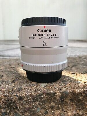 Near Mint! Canon EF 2X (2.0X) II Extender (camera lens filter) NO RESERVE!