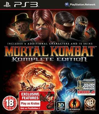 Mortal Kombat - Game of The Year Edition (PS3), Very Good PlayStation 3, Playsta