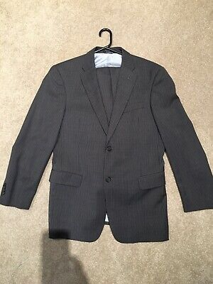 Tommy hilfiger Grey Pin Stripe Suit R40