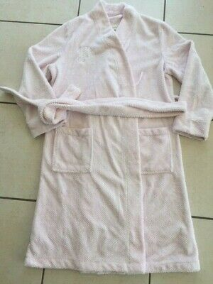 Peter Alexander fluffy pink dressing gown size S, good condition