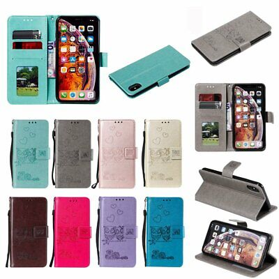 Bling Flip Leather Wallet Phone Cover For Apple iPhone X Xs Max XR 7 8 6S 6 Plus