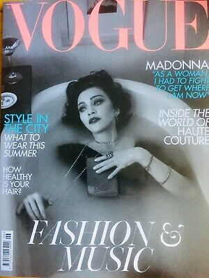 Madonna Vogue Magazine Uk Edition May 2019-Madame X - Medellín - Crave-Future