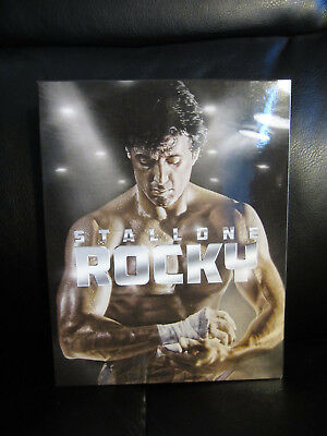Rocky Blu-Ray Steelbook [solo At Blufans] Oab Full Slip Mint Aperto