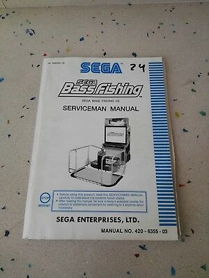 SEGA Bass Fishing Original Serviceman Manual