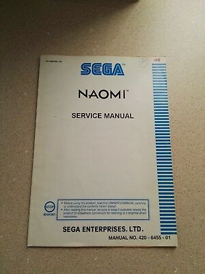 SEGA Naomi Original Service Manual