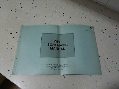 Williams WPC Original Schematic Manual (1)