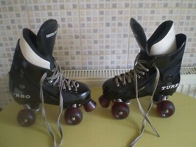 Ventro Pro Turbo Roller Skates Size UK 4-5 EUR 35-38.Good Used Condition.
