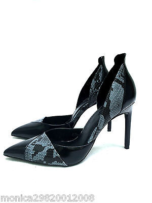 76e66216793d Zara Snake Asymmetrical High Heel Pointed Court Shoes Size 38 40 Ref 2208  101