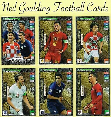 Panini ROAD TO EURO 2020 ☆ INVINCIBLE/TOP MASTER/EXPERT ☆ 'Rare' Cards #1 to #9