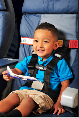 NIB! CARES Kids Fly Safe Airplane Harness Safety Restraint AMSAFE FAA Approved!