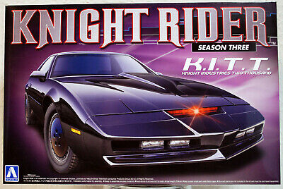 1982 Pontiac Firebird Trans Am Knight Rider K.I.T.T. Season Three Aoshima 07037