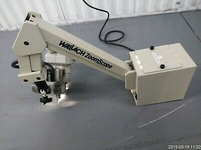 Wallach Zoomscope Colposcope With Nikon Smz-1 Microscope Clean No Lens Scratches
