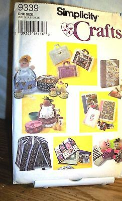 Pattern G122 S9339 Simplicity Crafts Assorted Covers