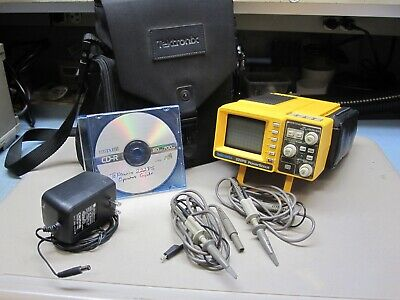 Tektronix 222PS Digital Oscilloscope,Probes,Case,CD Manual, Very Nice Condition!