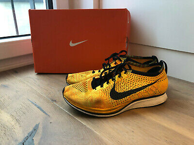 new style 5f7e0 076d1 NIKE FLYKNIT RACER Orange Bright Crimson Volt (41-42,5) 526628602 ...