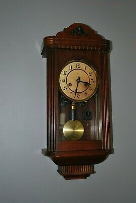 Small Antique H A C Wall Clock