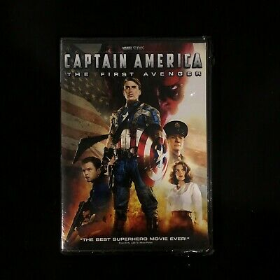Captain America: The First Avenger (DVD, 2013)