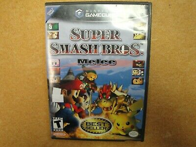 Super Smash Bros. Melee In Original Case For The Nintendo Gamecube