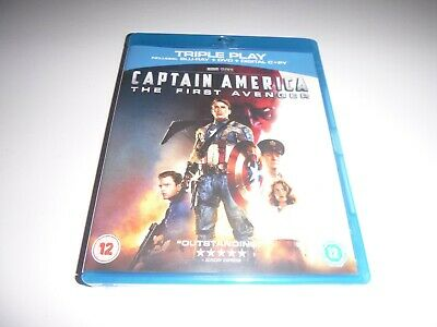 Captain America - The First Avenger (Blu-ray, 2013) Marvel The Avengers