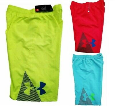 ef7192ee1b NWT UNDER ARMOUR Slash Boys Volley Swim Trunks SELECT SIZE & COLOR ...