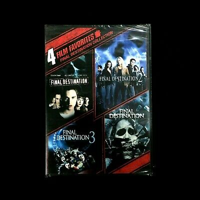 Final Destination Collection: 4 Film Favorites (DVD, 2010, 2-Disc Set)