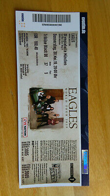 Ticket Eagles World Tour 30.05.2019 München Olympiahalle