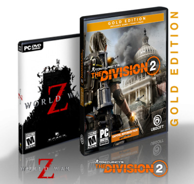AMD PC Game Bundle: The Division 2 Gold Edition AND World War Z (Free Shipping)