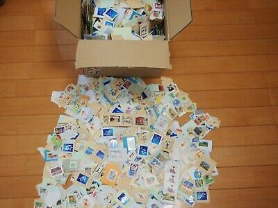 Only Commemorative JAPAN Used Stamps  2000pcs Briefmarken Kiloware old lot posta