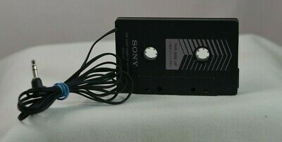 SONY CPA-11 CAR AUDIO CASSETTE ADAPTER CD PLAYER MP3 iPOD iPHONE FAST-FREE SHIP