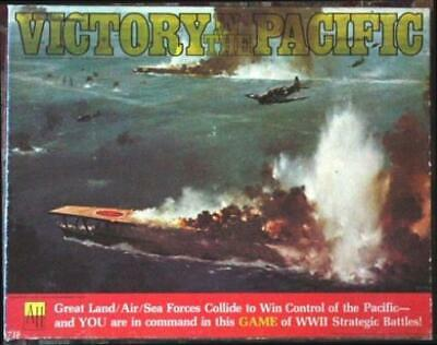 Avalon Hill WWII Victory in the Pacific (2nd Edition) Box VG
