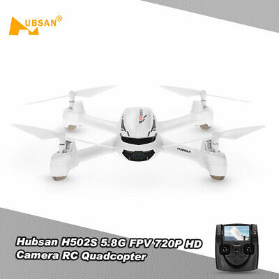Hubsan H502S 5.8G FPV 720P HD Camera Drone RC Quadcopter with GPS Follow Me H3S3