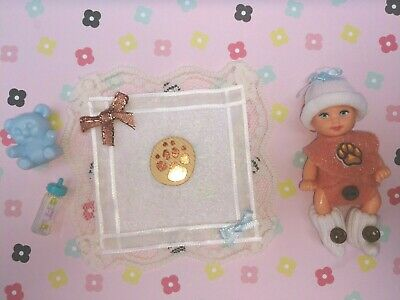 Barbie Happy Family Midge Krissy Skipper Baby Sitters Inc Doll Paw Print Set #2