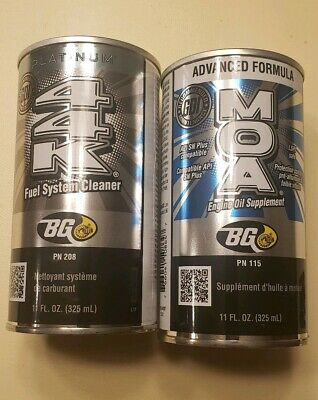 BG 44K Platinum Fuel System Cleaner and BG MOA Engine Oil Supplement